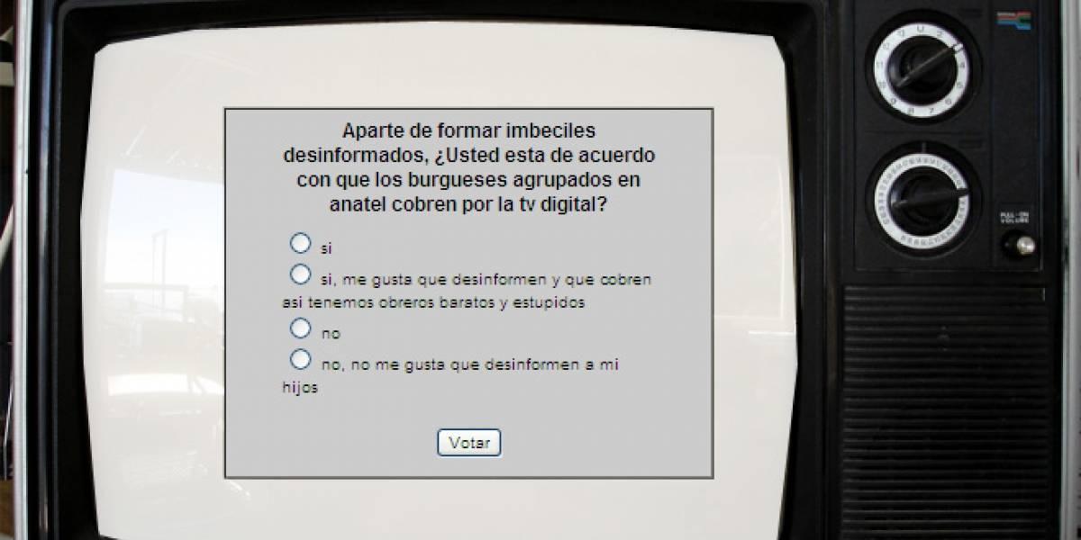 Chile: Hackean sitio de Anatel en reclamo por canales de pago en proyecto de TV digital