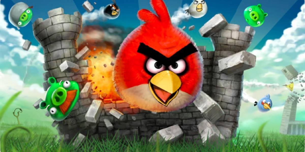 Angry Birds es descargado 1 millón de veces al día