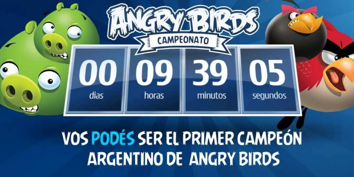 Argentina: Si sos imbatible volteando cerditos a pajarazos, podés ser el nuevo campeón de Angry Birds