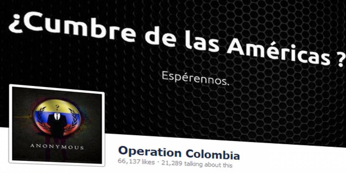 Colombia: Sitio web del Senado sigue caído después de casi 3 días por ataque de Anonymous