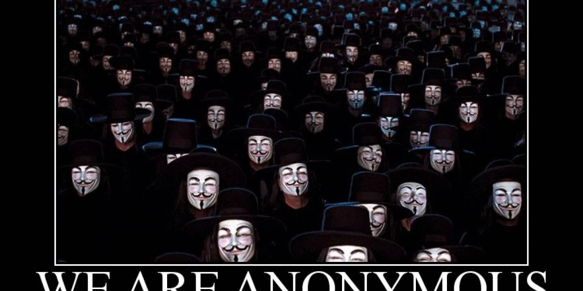 ¿Quiénes son Anonymous?