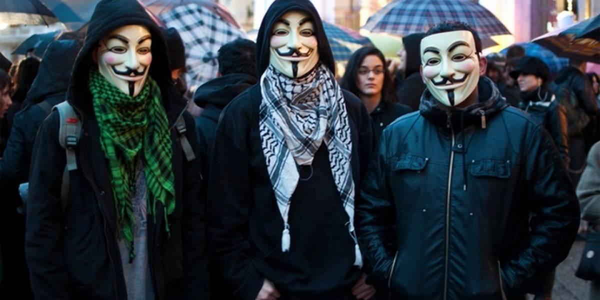 India: Anonymous ataca sitios web