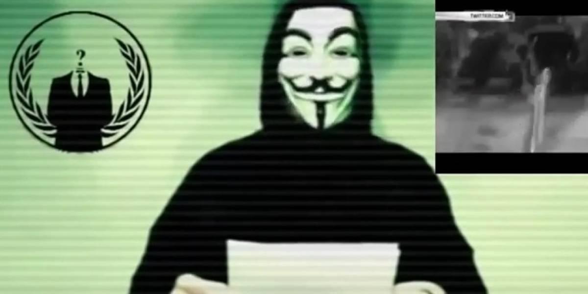 "Anonymous declaró la ""guerra total"" al Estado Islámico"