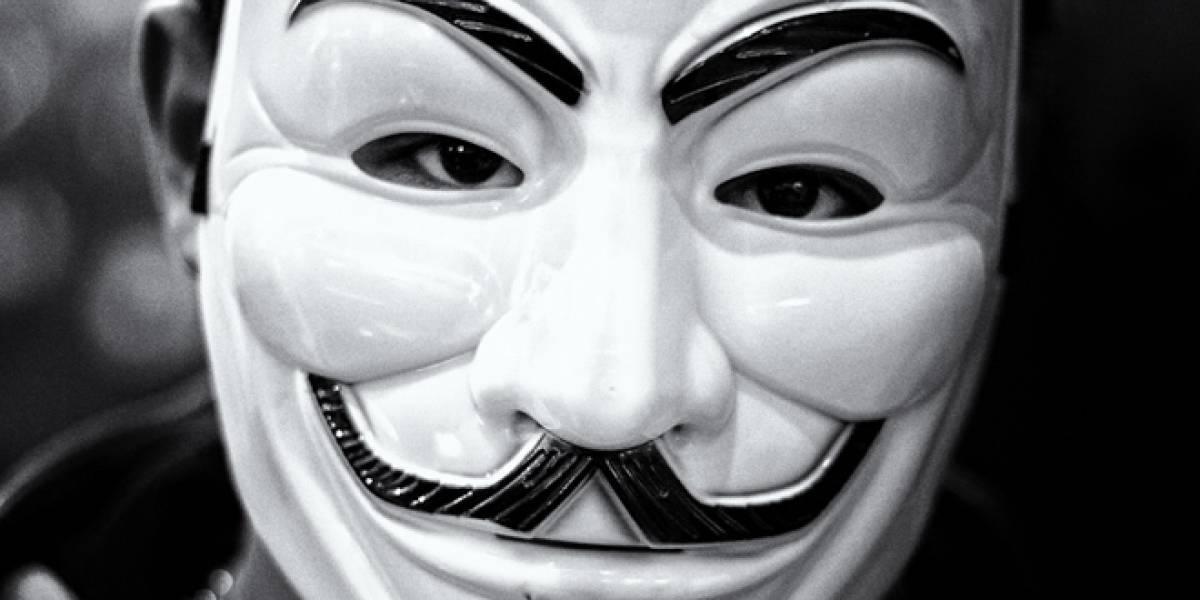 Anonymous ataca a los Gobiernos de Gran Bretaña y Túnez