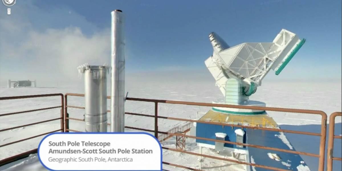Google añade panorámicas de la Antártida en Google Street View