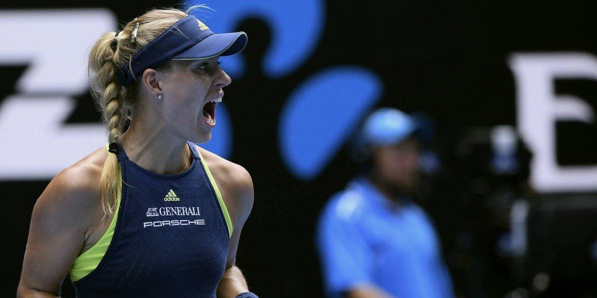 Kerber pasa a semifinales del Abierto de Australia