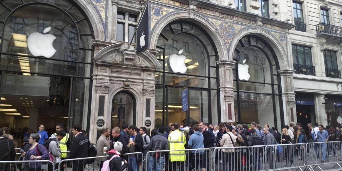 Ya hay gente haciendo fila en las Apple Store para adquirir el iPhone 6
