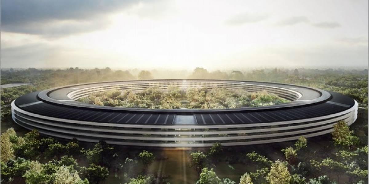 Mira la construcción del Campus 2 de Apple ahora en 4K [VIDEO]
