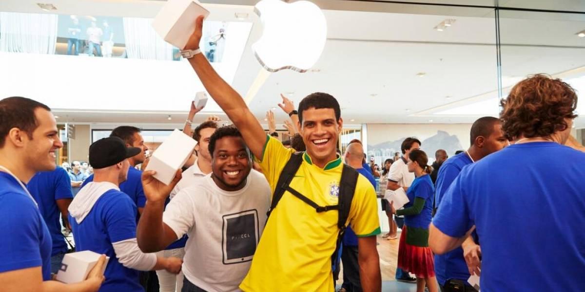 Así fue la inauguración de la Apple Store en Brasil