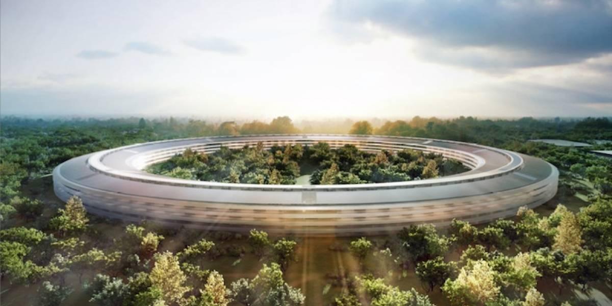 La nave espacial - campus de Apple está atrasado y es más caro de lo presupuestado