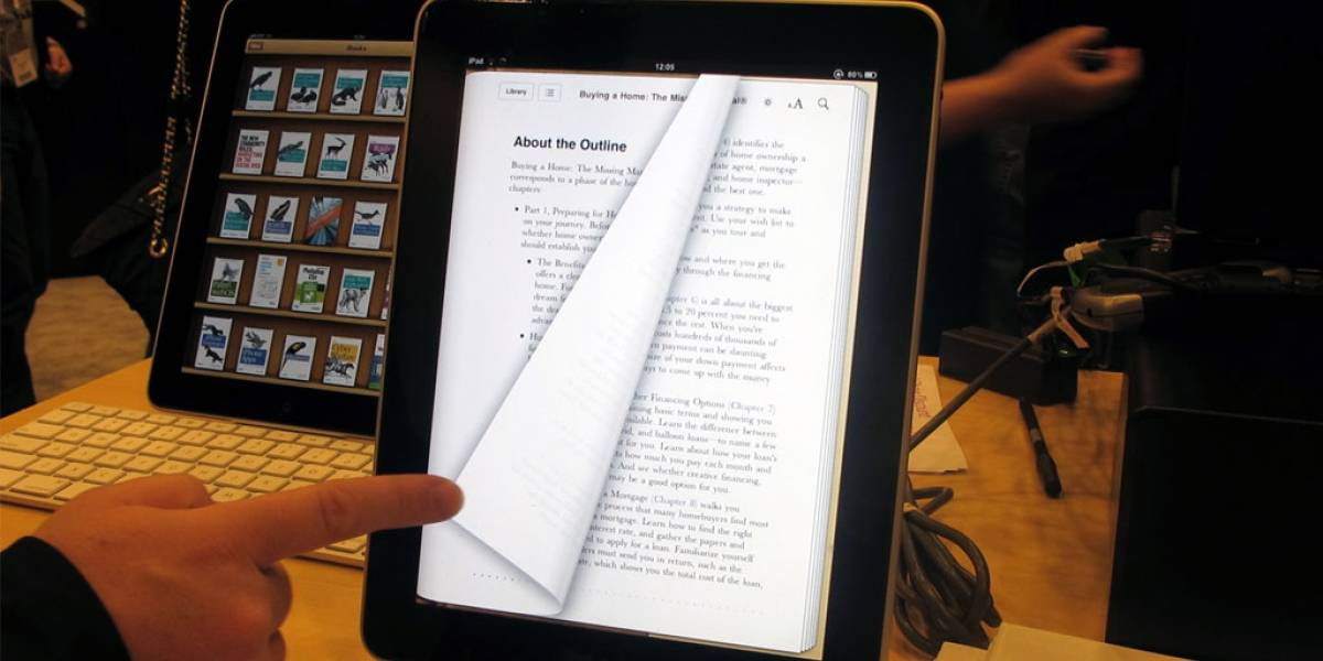 Casas editoriales de EEUU no quieren que se siga castigando a Apple por el caso e-books