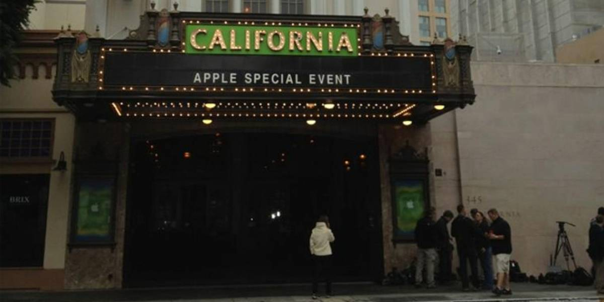 Sigue el evento de Apple y el iPad Mini en vivo