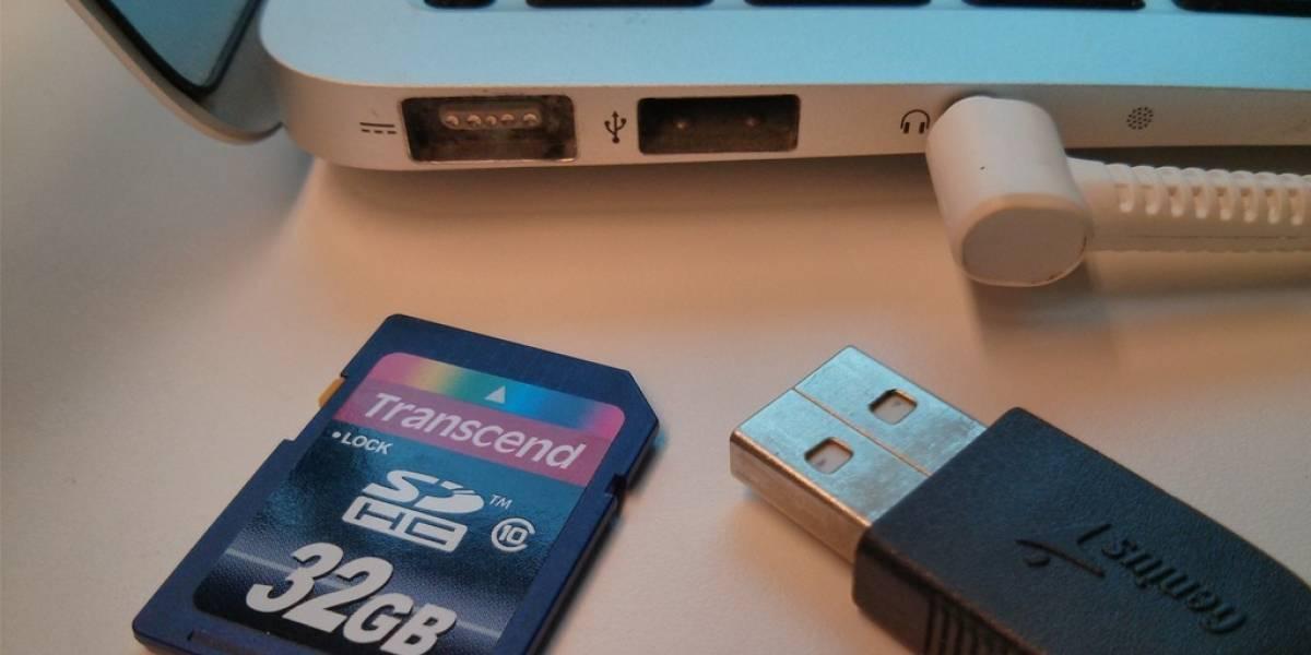 Patente de Apple busca combinar puerto USB y ranura para leer tarjetas SD