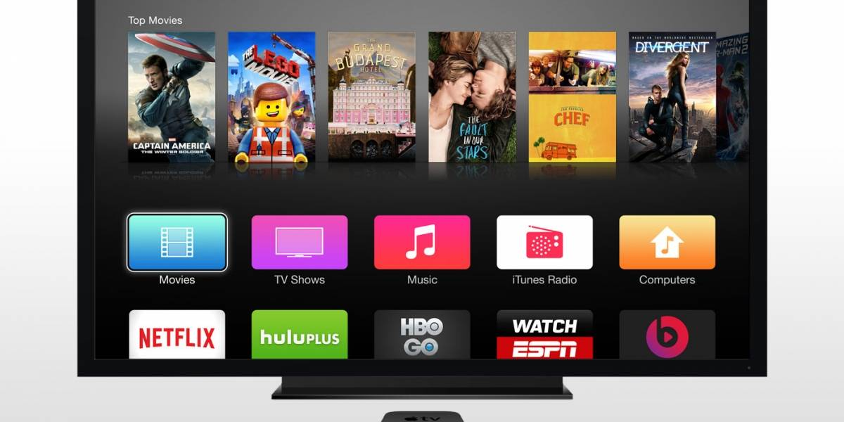 Apple rediseña el control remoto de Apple TV agregando un touchpad