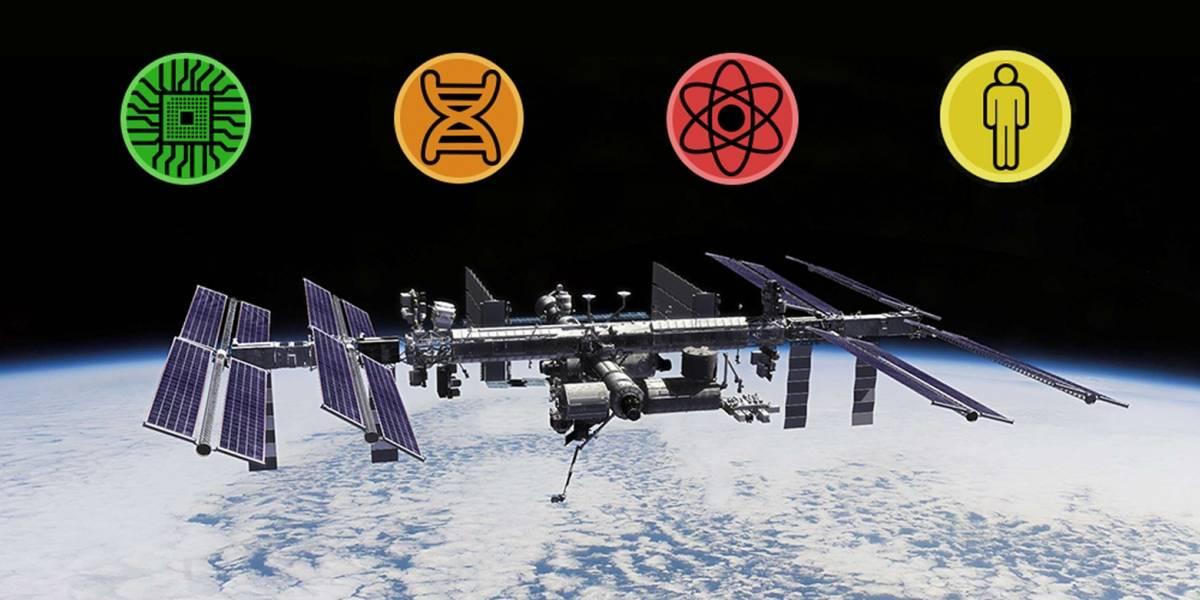 Una app permite explorar los experimentos científicos efectuados en la Estación Espacial Internacional