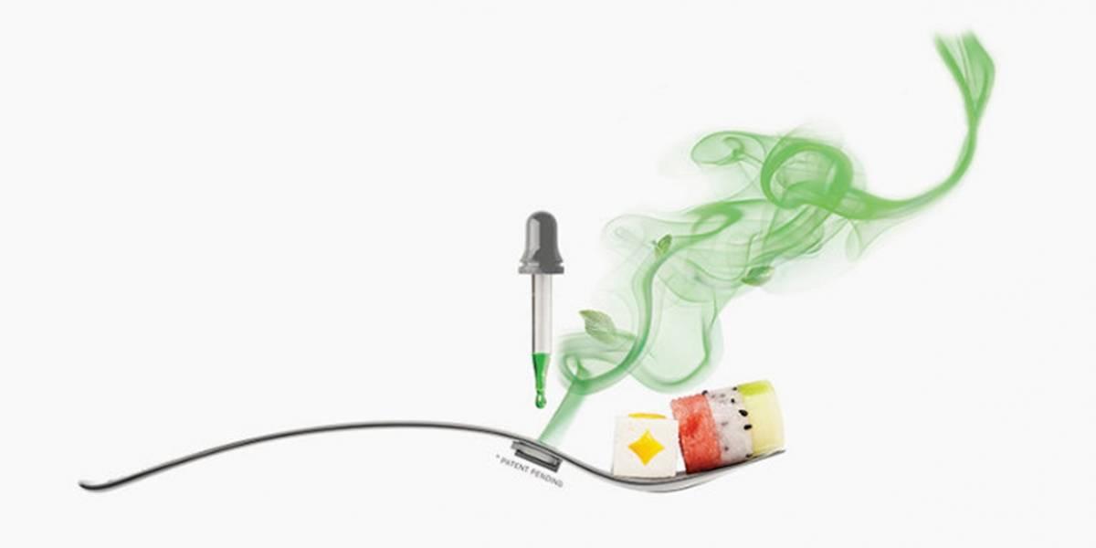 Crean tenedor que además de sostener tu comida emite aromas