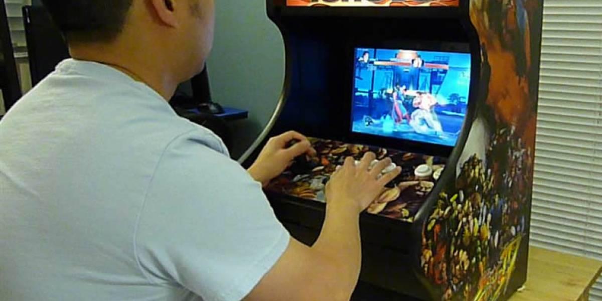 ArcadeDock convierte un notebook Lenovo en una máquina arcade de escritorio