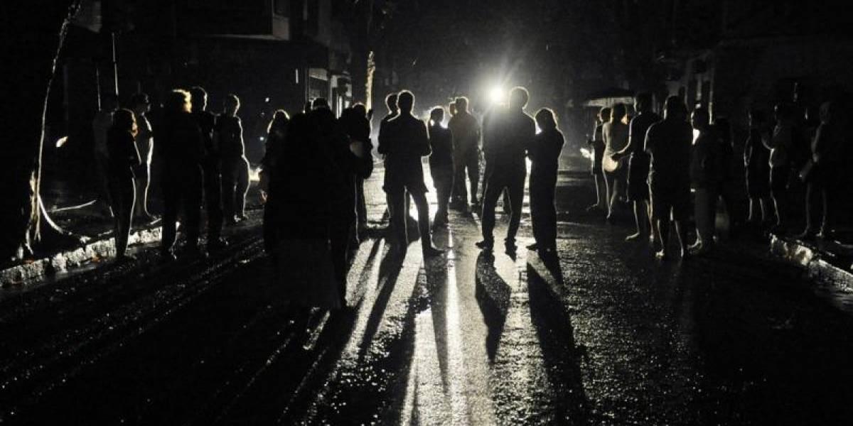 Argentina, un infierno en la oscuridad