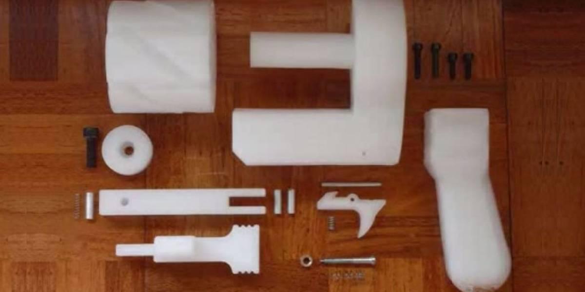 Japonés es condenado por imprimir un revolver en 3D