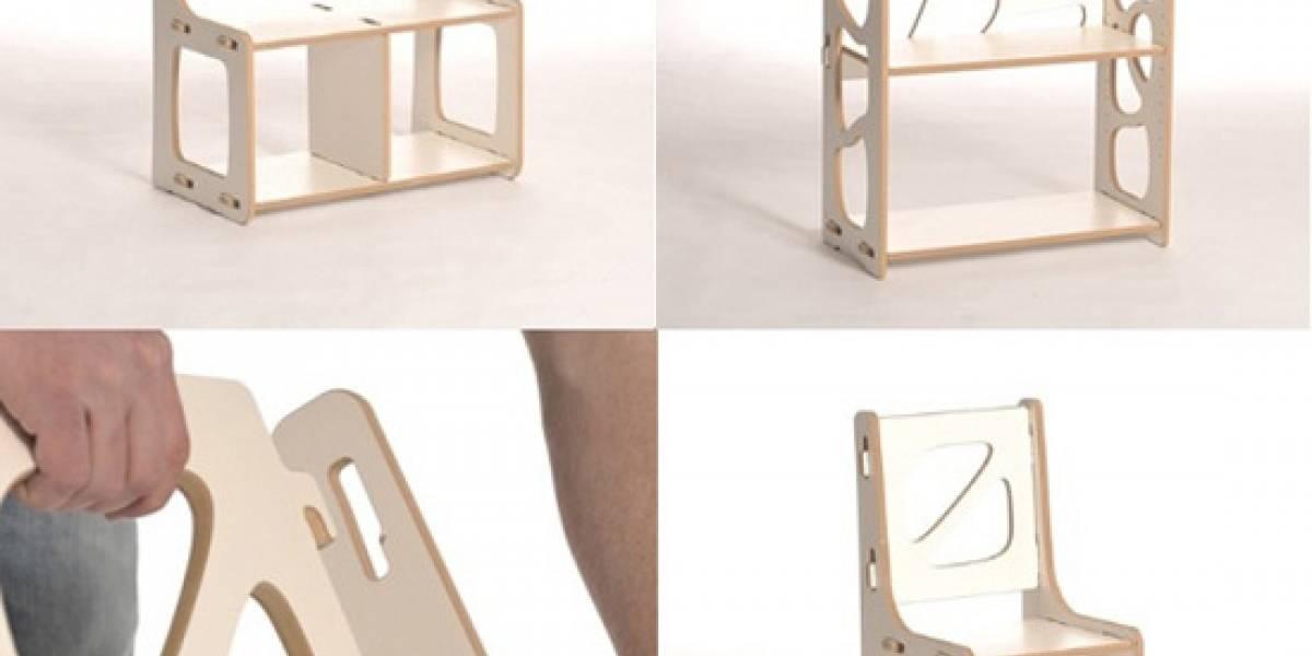 Muebles que se convierten en otros muebles