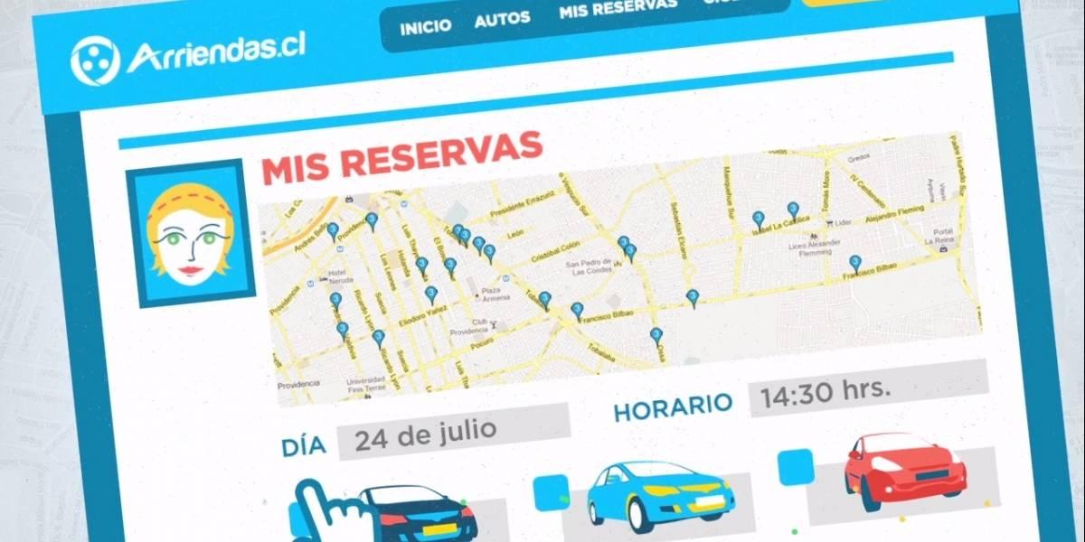 Arriendas.cl: Arrienda el auto de un vecino y comparte la ciudad de Santiago