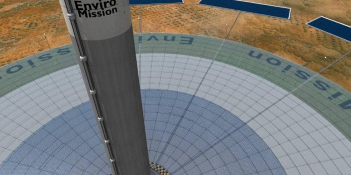 Planean comercializar torre solar inflable de un kilómetro de altura