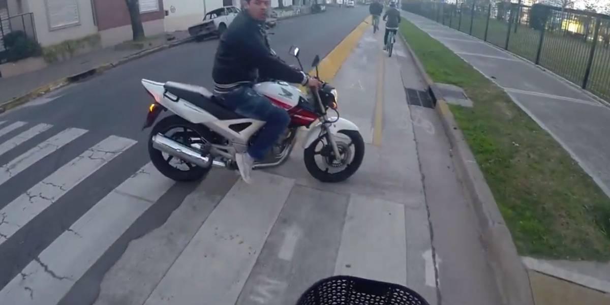 Turista captura intento de asalto en Argentina con una GoPro