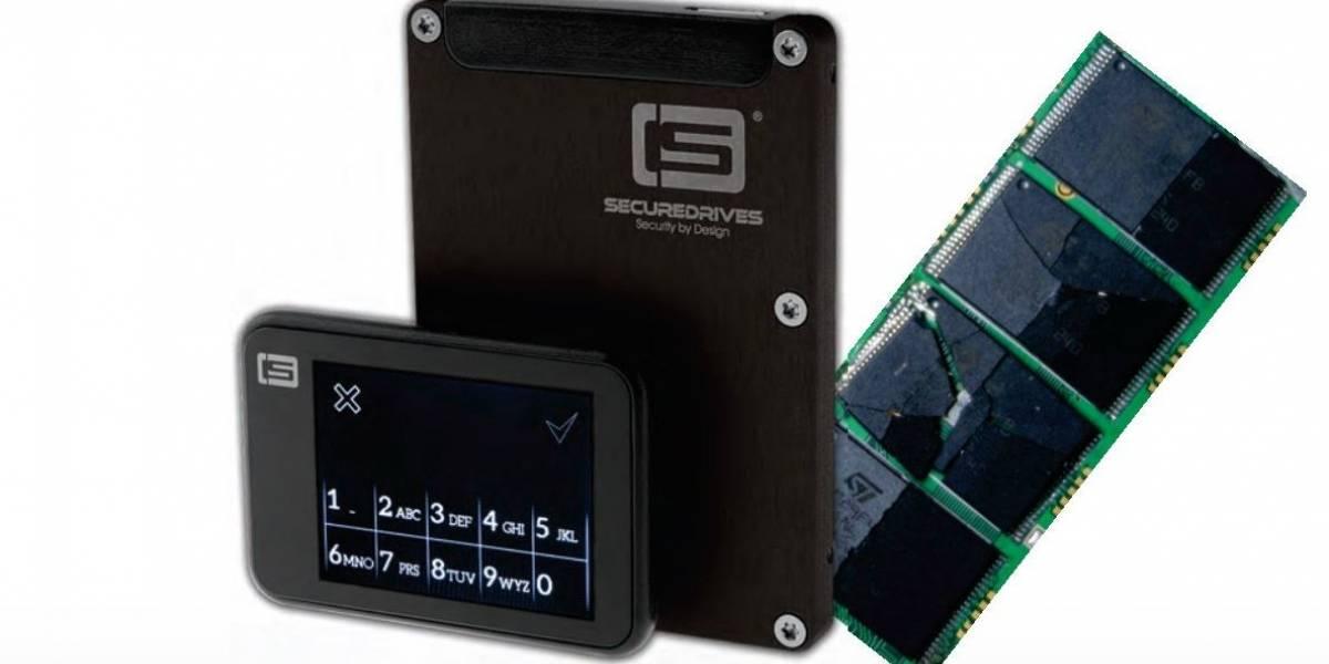 Lanzan disco SSD que se autodestruye enviando un SMS