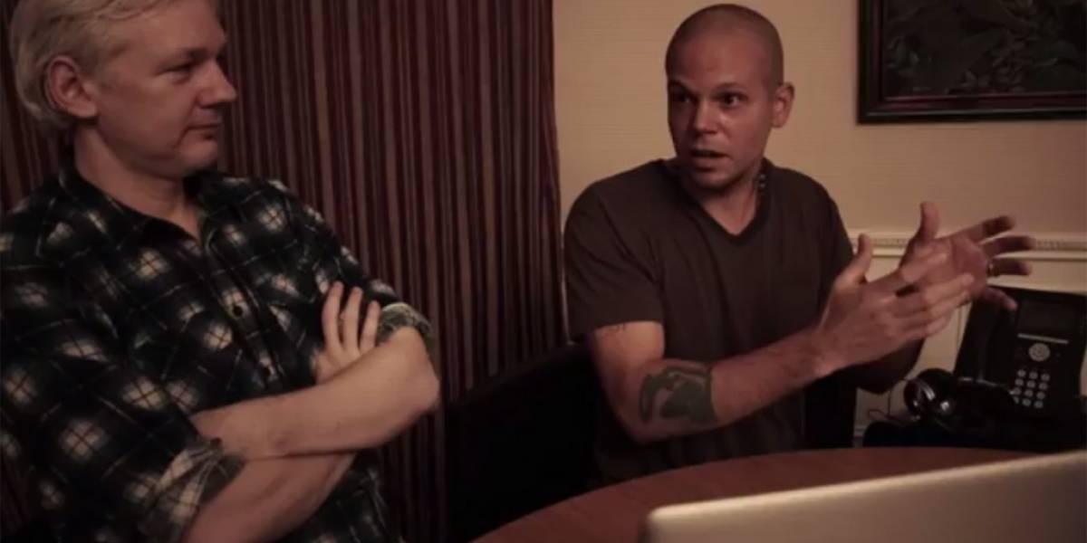 Calle 13 trabaja con Julian Assange en nueva canción