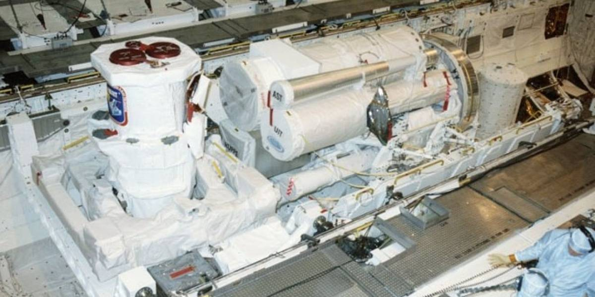 Ponen a la venta en eBay un telescopio espacial de la NASA