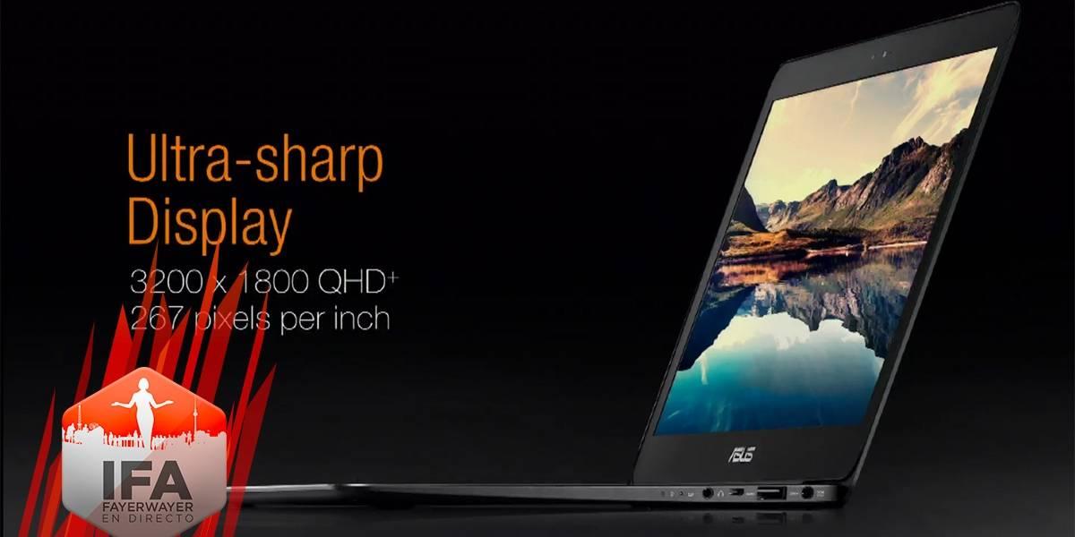 Asus Zenbook UX305 tiene una pantalla QHD+ #IFA2014