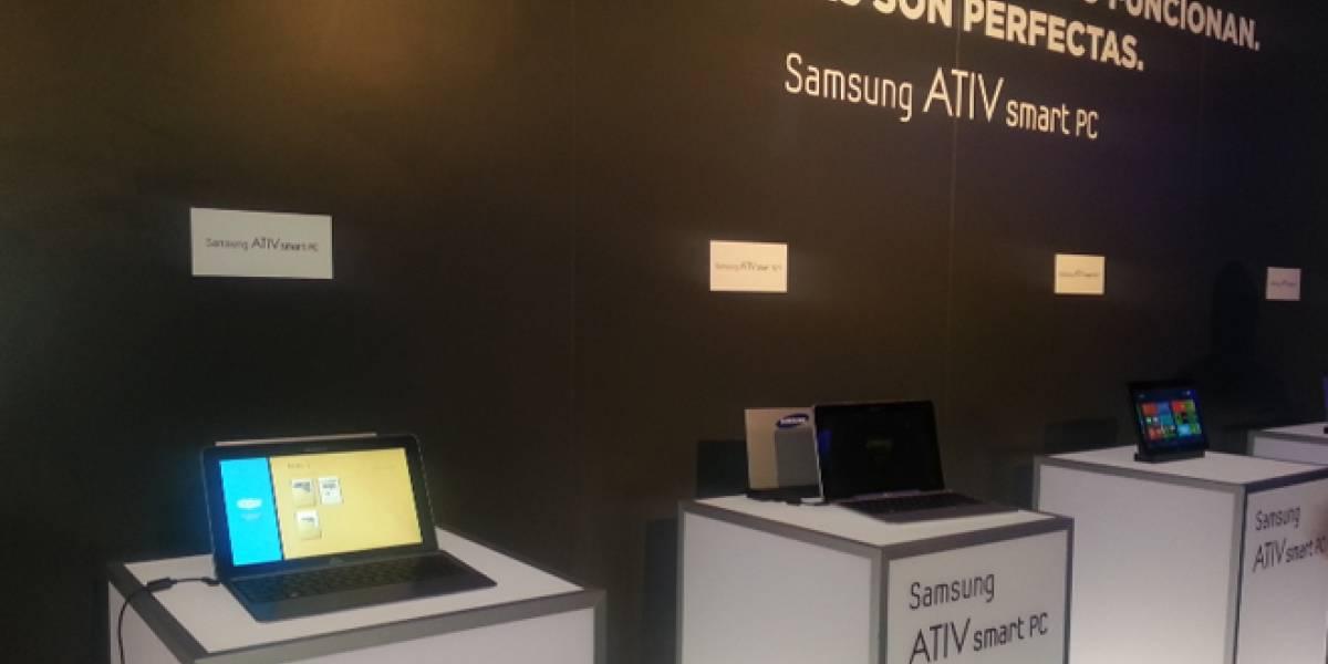 Los ATIV Smart PC de Samsung se dejaron ver en España