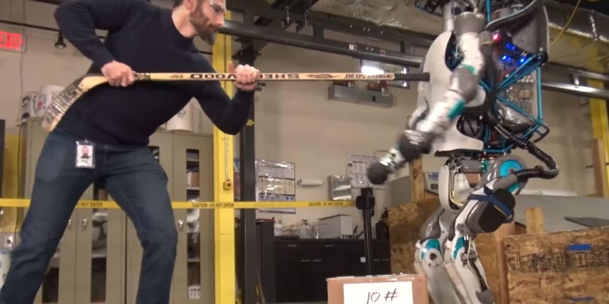 El robot humanoide Atlas ya es a prueba de abusivos
