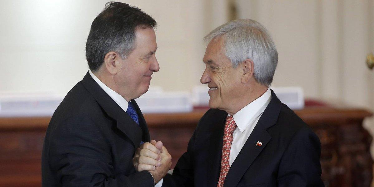 Una sorpresa en el gabinete que anunció Piñera
