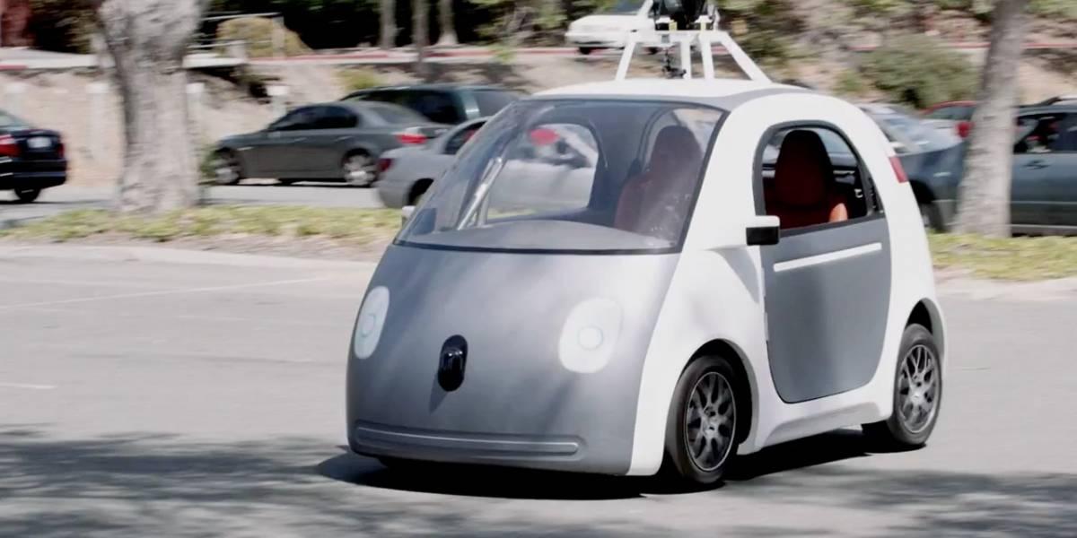 El automóvil de Google no tiene volante porque los humanos somos poco confiables