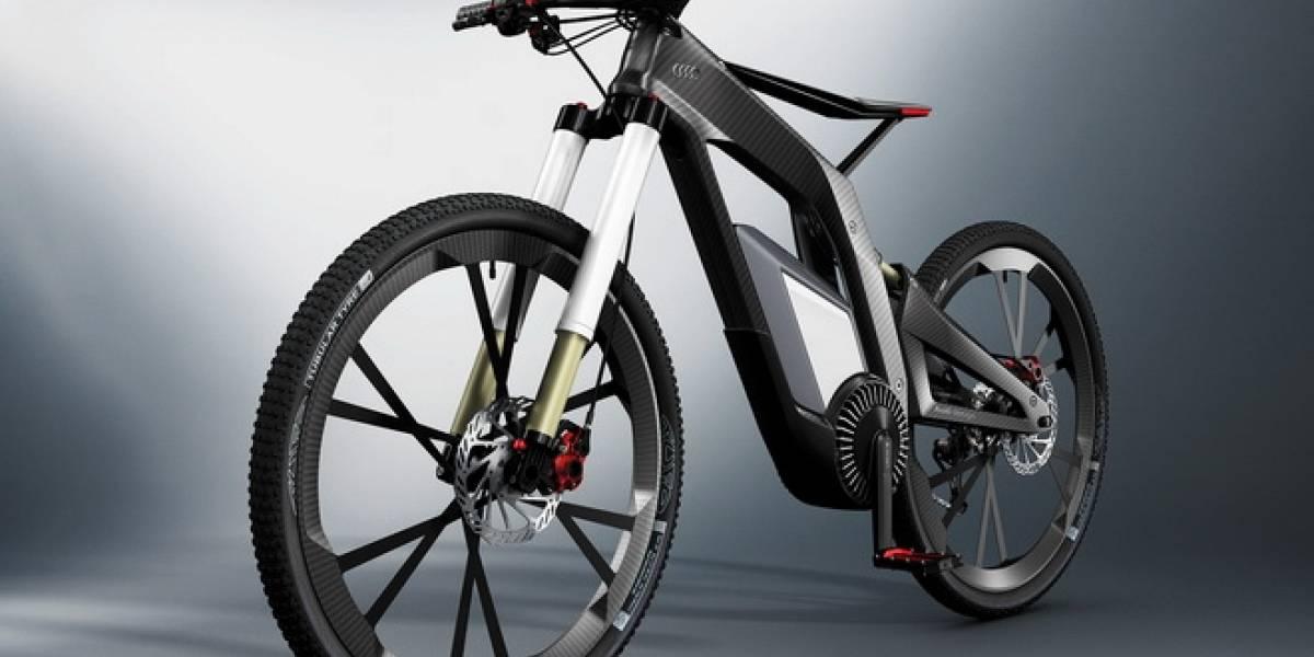 Wörthersee, la bicicleta eléctrica del futuro según Audi