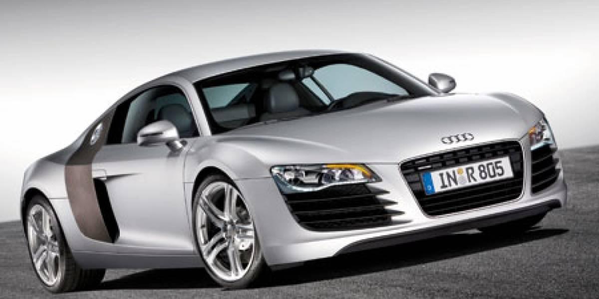 Audi R8 totalmente a LED