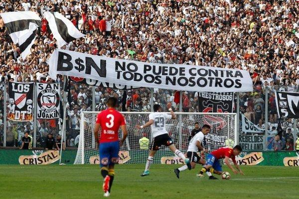 Colo Colo intentará compensar a sus hinchas / imagen: Agencia UNO