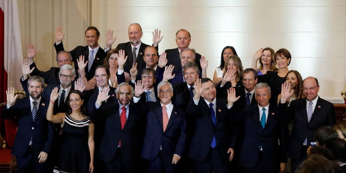"""Las dos """"bromas"""" de Piñera sobre las ministras en el anuncio del gabinete que causaron revuelo en redes sociales"""