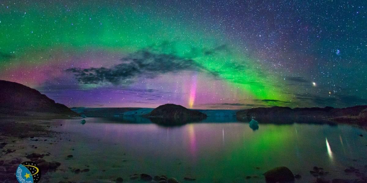 Observa las auroras boreales por Internet