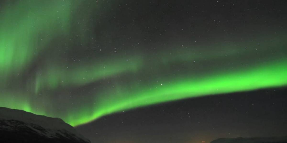 "Imperdible: auroras boreales en un solo video ""timelapse"""