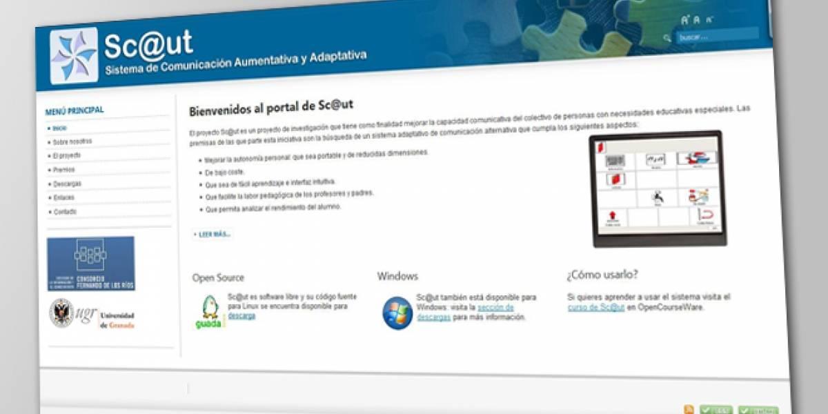 Sc@ut: Un software para integrar a niños autistas y con síndrome de Down