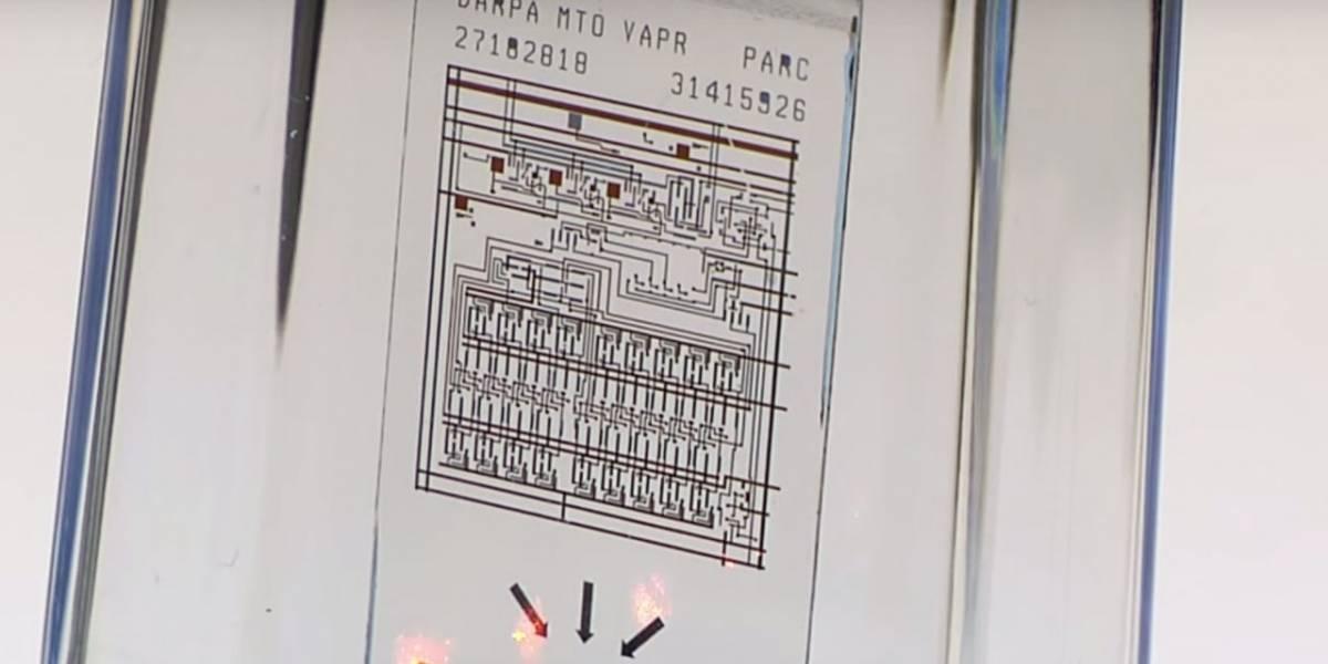Xerox PARC desarrolla un chip que puede autodestruirse