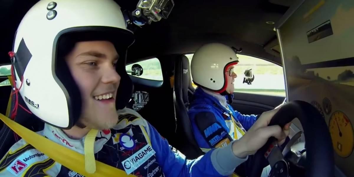 ¿Quién gana en una carrera entre un piloto de videojuegos y un piloto de verdad?