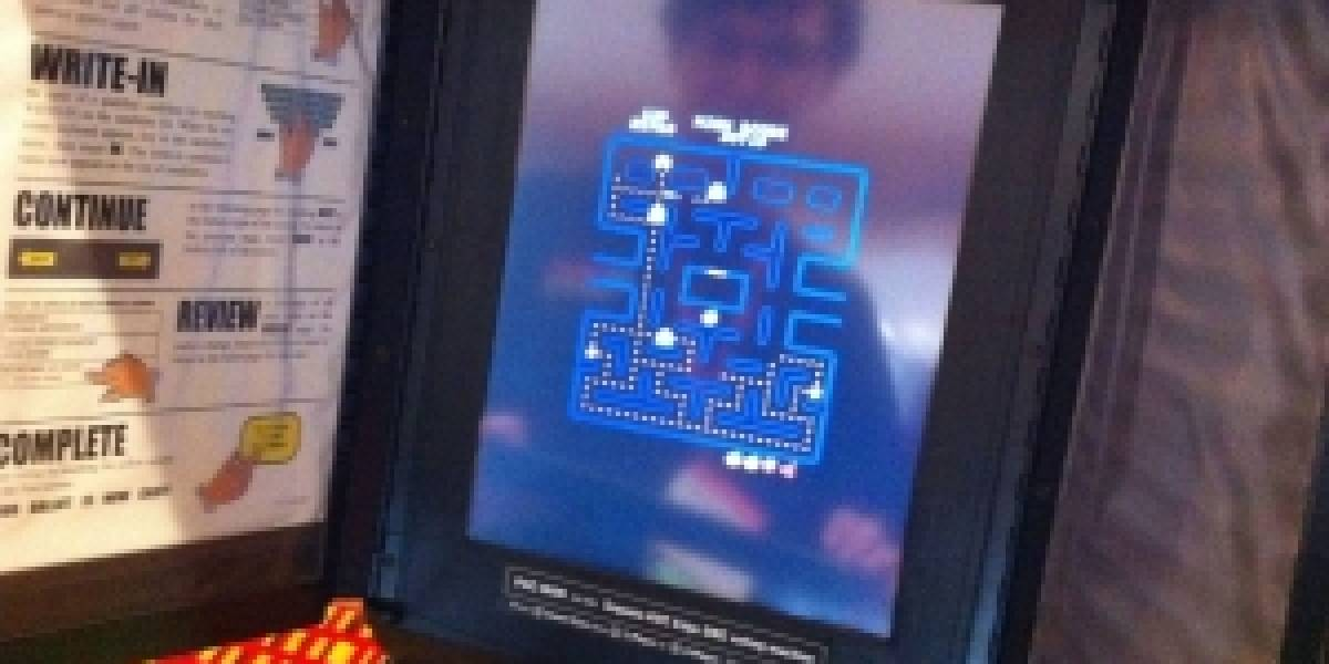 Logran correr Pac-Man en un máquina de votación