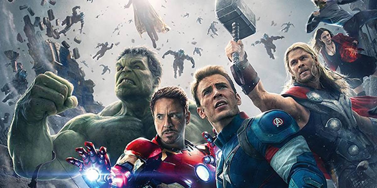 Este es el póster oficial de Avengers: Age of Ultron