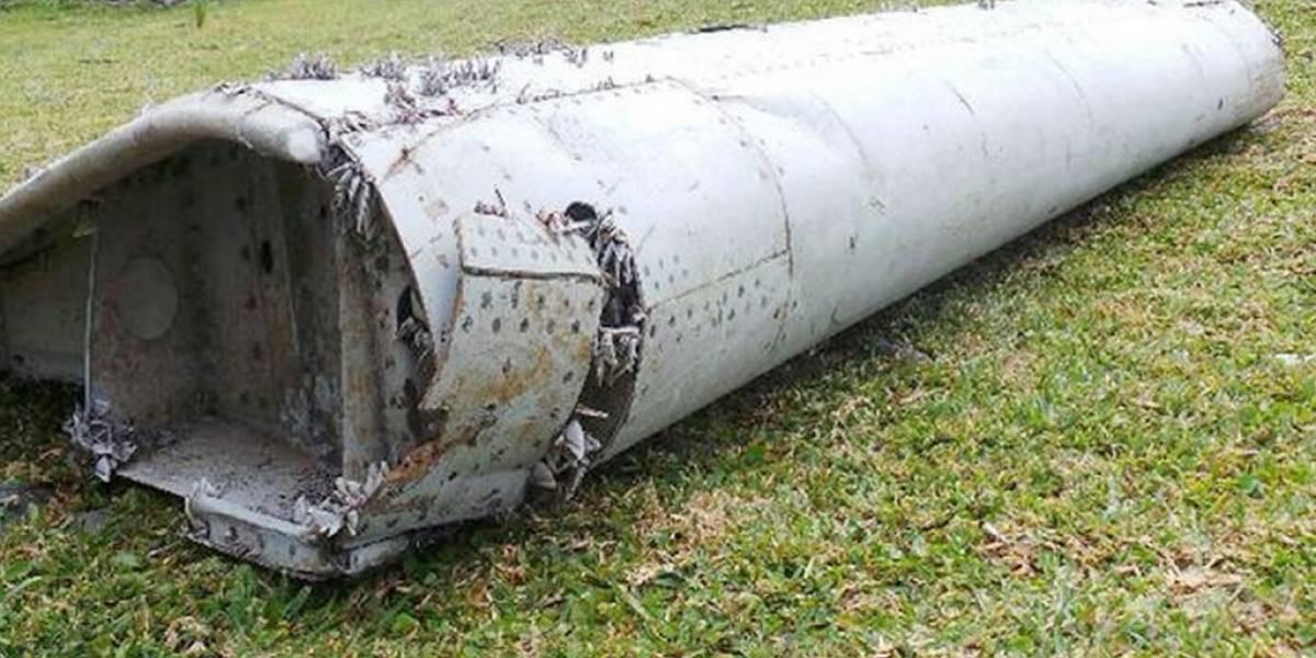 Pieza de avión encontrada en Isla Reunión es del vuelo MH370 de Malaysia Airlines