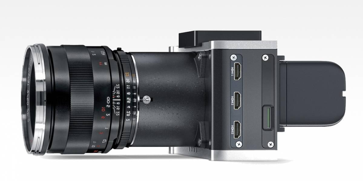 AXIOM Beta, una cámara de cine abierta