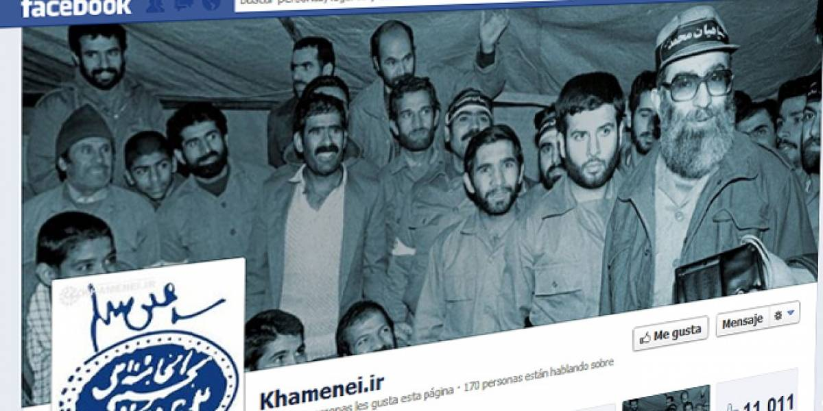 Ayatola Jameneí abre una cuenta en Facebook pese a estar bloqueado en Irán