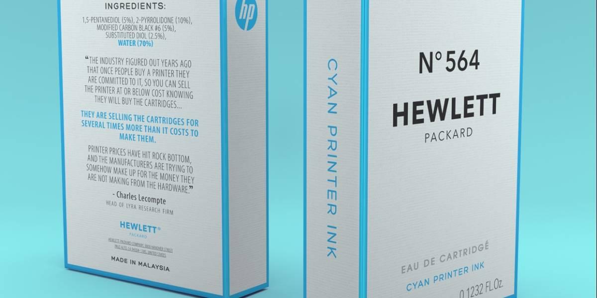 La tinta para impresoras es tan cara que deberían venderla como un perfume